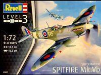 MODEL AIRCRAFT SUPERMARINE SPITFIRE MK.VB 1:72 SCALE NEW