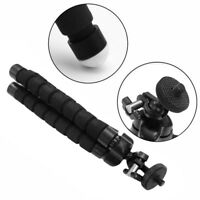1pc Black Flexible Tripod Stand Monopod Mount Holder Octopus For GoPro Camera