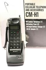 RETRO COLLECTABLE Vintage Mobile Phone SONY CM-H1 WORKING