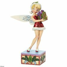 Disney Traditions Holiday Wishes Tinker Bell Christmas Figurine 19cm 4041808