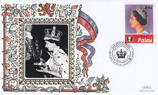 (19370) Palau Benham Cover Queen Golden Jubilee anniversary 2007
