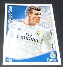 GARETH BALE REAL MADRID FOOTBALL CARD SUPERSTAR LIGA 2014-2015 MDCROMO PANINI