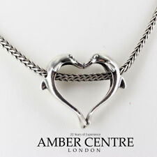 Genuine Trollbeads Dolphin Heart Pendant Brand New TAGPE-00019 RRP£75!!!