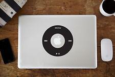 """iPod Roue Etiquette Autocollant Vinyle pour Apple MacBook Air/Pro 12"""" 13"""" 38.1cm"""