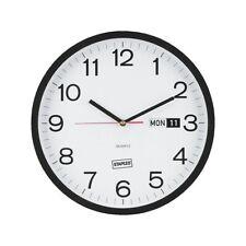 "Staples 12.5"" Round Clock (18377) 812296"