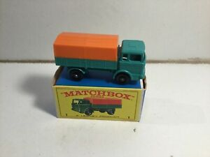 Matchbox No 1 Mercedes Truck Very Near Mint Within Its Original Type E Box