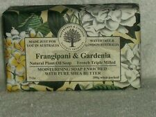 WAVERTREE  LONDON TRIPLE MILLED NATURAL PLANT OIL SHEA BUTTER SOAP Gardenia