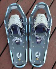 New listing Excellent! Women's Atlas Elektra 822 Snow Shoes Blue Gray Purple Snowshoes