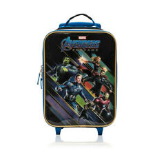 Marvel Avengers End Game Soft Side Trolley Luggage for Kids - 16 Inch [Black]