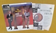 """"""" THE TWO SIDES OF JOHN LEYTON """"SUPER VINYLED RARE UK ORIG HMV LP JOE MEEK 1A1A"""