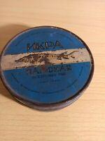 Rare  Canned Sturgeon Black Caviar Tin Box Original 2