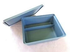 Vintage TUPPERWARE Stow- N -Go Divided Storage Container  #1579-6 FREE SHIP