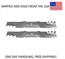 """John Deere 42"""" Extreme Mulch Blades GX20249 L105 L100 L107 L108 L110 L111 L118"""