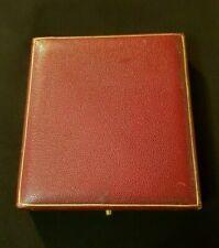 Boîte écrin pour Médaille d'Honneur ou commémorative French Medal case
