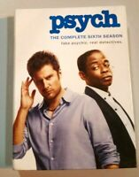Psych: The Complete Sixth Season (DVD,4-Disc Set)