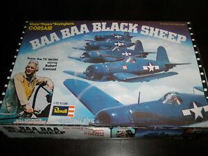 1/32 BAA BAA BLACK SHEEP PAPPY'S F4U-1 CORSAIR USN Fighter by Revell