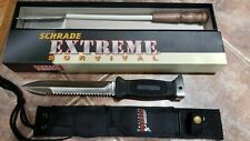 SCHRADE EXTREME SURVIVAL KNIFE BT01 with Sheath NEW in box!!