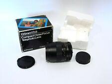 Excellent JC Penney 135mm F2.8 52mm Multi-Coated Lens Canon Breech Lens Mount