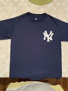 Robinson Cano 24 New York Yankees Majestic T-Shirt Size L