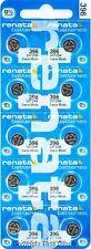 10 pc 396 Renata Watch Batteries Swiss Made SR726W 0% MERCURY