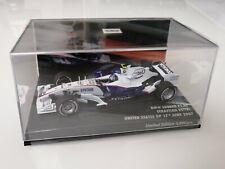 """BMW Sauber F1.07 Sebastian Vettel """" USA GP 2007 - 1st Points """" 1/43 TOP in Box"""