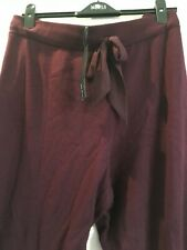 BNWT M&S Autograph Sleepwear with cashmere burgundy bottoms 22