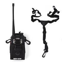 MSC-20B Nylon Walkie Talkie Bag Case Holder for BaoFeng UV-5R A/B/C/E Icom Yaesu