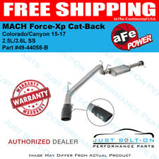 "aFe MACH Force-Xp 3"" SS Cat-Back for Colorado/Canyon 15-17 2.5L/3.6L #49-44058-B"
