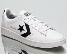 Converse Pro Leather OX Men's White Black Gold Casual Lifestyle Sneakers Shoes