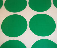 1000 Green 38mm - 1.5 Inch Colour Code Dots Round Stickers Sticky Id Labels