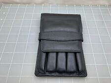 Judd's New Old Stock Joon Black Leather 5 Pen Case