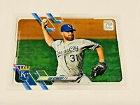 2021 Topps Baseball Base Card #236 - Ian Kennedy - Kansas City Royals