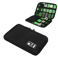 Travel Digital Electronic Accessory Case Cable USB Drive Insert Organizer Bag ZH