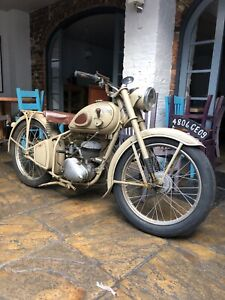 Peugeot P55 55TL 125cc Two stroke Motorcycle 1953
