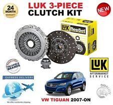 FOR VW TIGUAN 5N 2.0 TDi +4Motion 2007-ON CLUTCH KIT LUK 240mm DIAMETER 3 PIECE