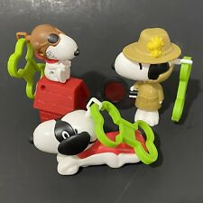 Peanuts Snoopy Flying Ace Detective Superhero McDonald's Kids Happy Meal Toy Lot
