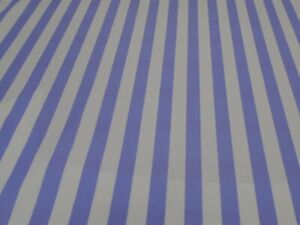 13MM LILAC AND WHITE STRIPED LYCRA 50cm