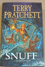 Book. Snuff by Terry Pratchett (Hardback, 2011). First Edition. HBDJ. Doubleday.