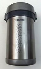 Zojirushi SL NCE09 Ms Bento Stainless Steel Vacuum Lunch Jar Only No Bag