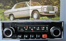 Für MERCEDES BLAUPUNKT OLDTIMER-RADIO PAGODE W113 + MP3-BUCHSE W107 114 115 W116