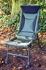 Fishing Chair - High Back Recliner, Extra High Padded Back, *FREE P&P*