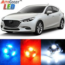 8 x Premium Xenon White LED Lights Interior Package Kit for Mazda 3 + Tool