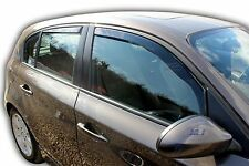 DBM11125 BMW 1 SERIES E87 5 door 2005-2011 wind deflectors 4pc set TINTED HEKO