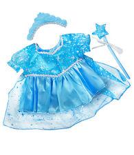 Bleu Neige Robe de princesse/robe tenue Teddy Bear Habits Pour Build A Bear
