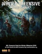 ASL Advanced Squad Leader Bonus Pack #7 Winter Offensive 2016, New Scenario Pack