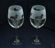 More details for corgi dog gift wine glasses..boxed