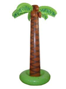 Inflatable Palm Tree 165cm Hawaiian Fancy Dress Luau Party New by Smiffys