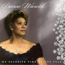My Favorite Time of the Year by Dionne Warwick (CD, 2007 Rhino) Christmas Album
