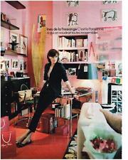 PUBLICITE ADVERTISING  2011   INES DE LA FRESSANGE    c'est la Parisienne
