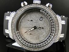 NEW MENS JOE RODEO/JOJO SILVER FACE MASTER 242 DIAMOND WATCH 2.2 CT JJMS21(W)